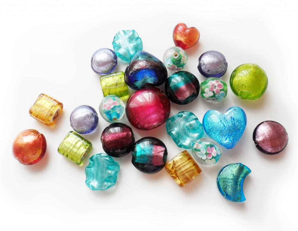 bolitas cristal murano