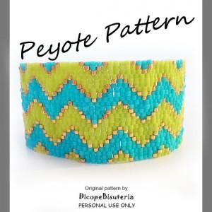 chevron peytote pattern