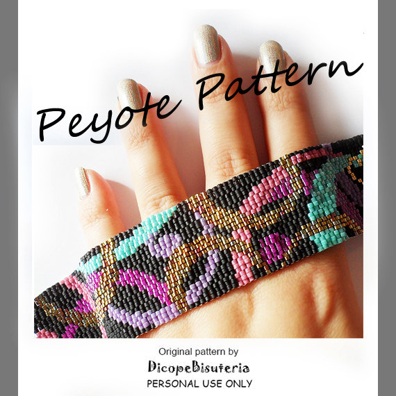 patron party waves peyote pulsera
