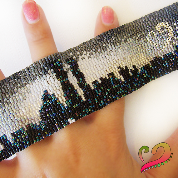 pulsera manchete peyote new york city