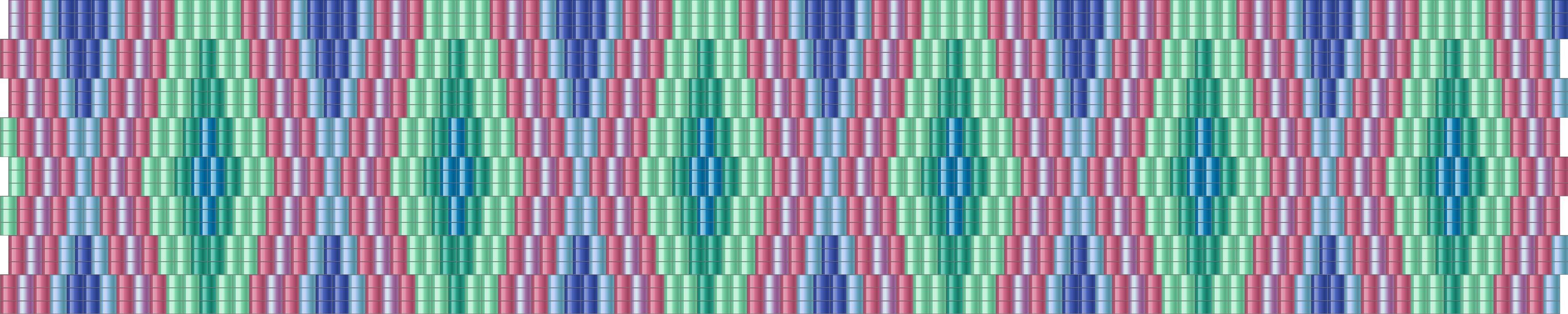 rumba peyote pattern