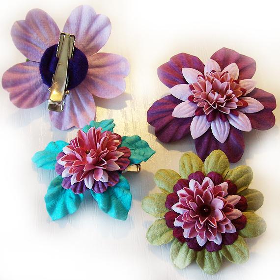 pinza flor