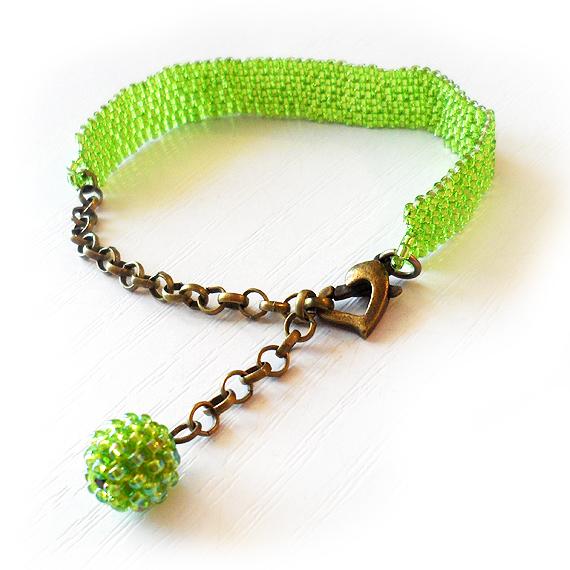 Shiny Green Beads Bracelet - Dicope Soul Bracelet (2)
