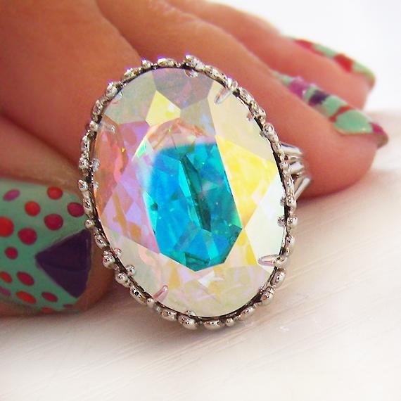 Swarovski Crystal Rhinestone Ring