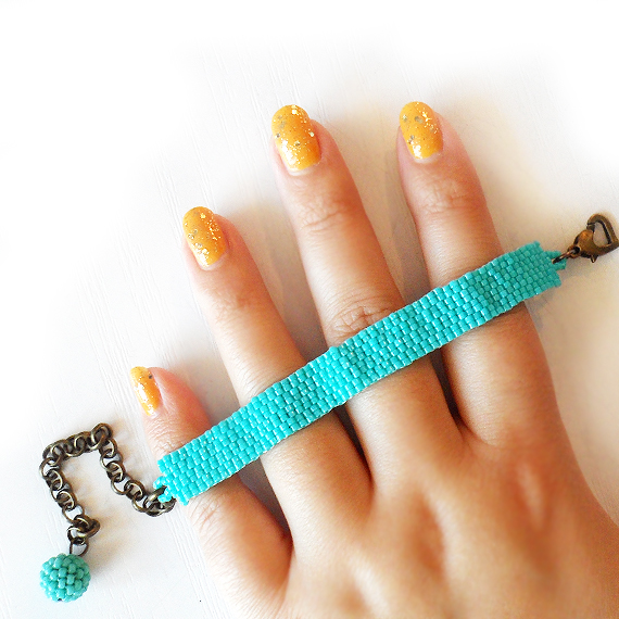 Turquoise Beads Bracelet - Charity  Bracelet (4)