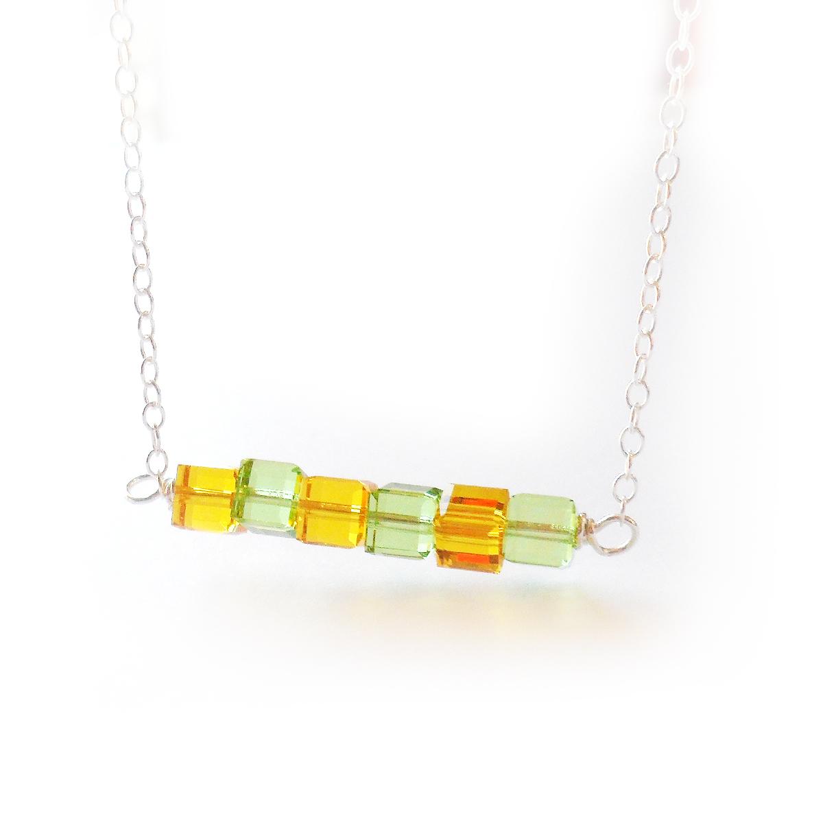 collar-calipso-en-cubos-de-cristales-de-swarovski-verde-y-amarillo-2