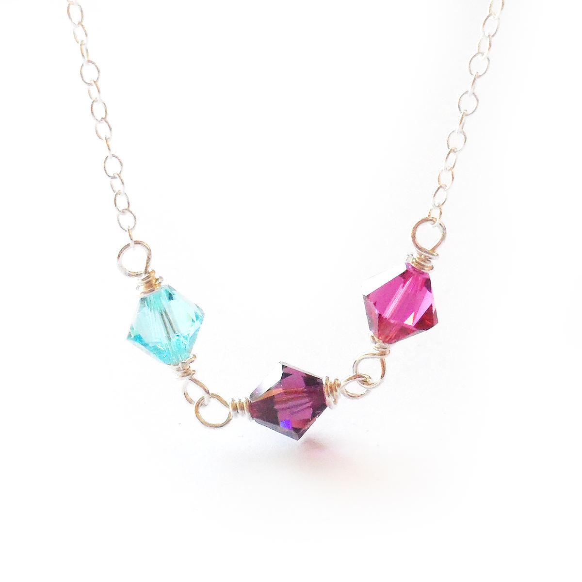 collar-leia-plata-de-ley-y-cristales-de-swarovski-azul-lila-y-fucsia-4