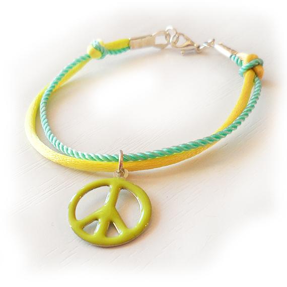 Pulsera de la Paz Verde (3)