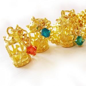 collar carrousel oro dicopebisuteria